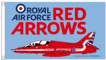 Red Arrows RAF Royal Air Force OFFICIAL  Merchandise 5'x3' (150cm x 90cm) Flag